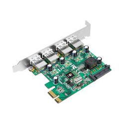 SIIG 4-Port USB 3.0 SuperSpeed PCIe Adapter Card JU-P40412-S1