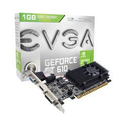 EVGA nVIDIA GeForce GT 610 1 GB DDR3 Graphics Card