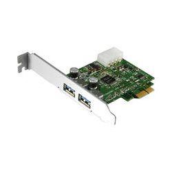 Aluratek 2-Port USB 3.0 SuperSpeed PCI Express Card AUPC100F B&H