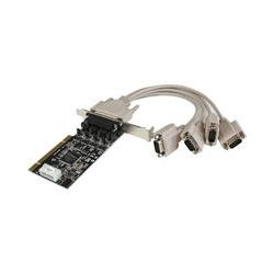 StarTech 4-Port RS232 PCI Serial Card Adapter PCI4S954PW B&H