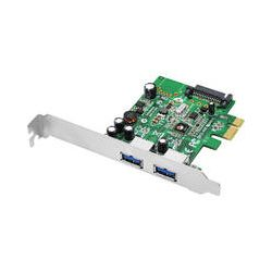 SIIG Dual Profile 2-Port USB 3.0 PCIe Adapter JU-P20612-S1 B&H