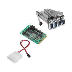 SIIG 4-Port RS232 Serial Mini PCIe with Power JJ-E40111-S1 B&H