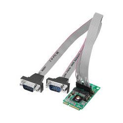 SIIG 2-Port RS232 Serial Mini PCIe Board with Power JJ-E20211-S1