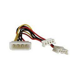 iStarUSA Molex to Dual Floppy Power Splitter Y-Cable ATC-Y-M2F