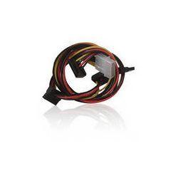 iStarUSA Molex to Four SATA Converter Power Cable ATC-M24S B&H