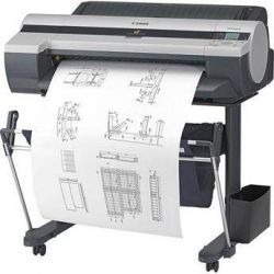 Canon imagePROGRAF iPF605 Printer with Stand 3034B002BA B&H