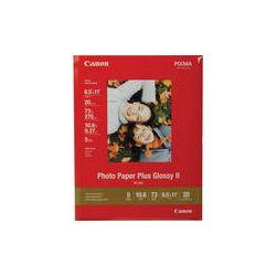 "Canon Photo Paper Plus Glossy II (8.5 x 11"") 2311B001 B&H"