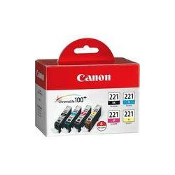 Canon  CLI-221 Four-Color Ink Tank Pack 2946B004 B&H Photo Video
