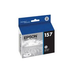Epson  157 Light Black Ink Cartridge T157720 B&H Photo Video