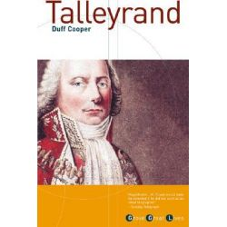 Talleyrand by Duff Cooper, 9780802137678.