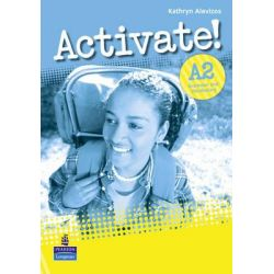 Activate! A2 Grammar and Vocabulary Book by Kathryn Alevizos, 9781408224212.
