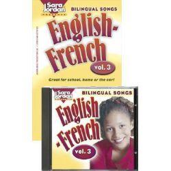 Bilingual Songs, v. 3 by Sara Jordan, 9781553860471.