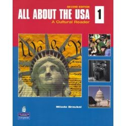 All About the USA 1, A Cultural Reader by Milada Broukal, 9780136138921.