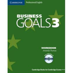 Business Goals 3 Workbook with Audio CD by Amanda Thomas, 9780521617857.