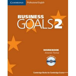 Business Goals 2 Workbook with Audio CD by Amanda Thomas, 9780521614672.