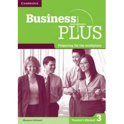 Business Plus Level 3 Teacher's Manual by Margaret Helliwell, 9781107668867.