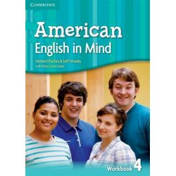 American English in Mind Level 4 Workbook by Herbert Puchta, 9780521733489.
