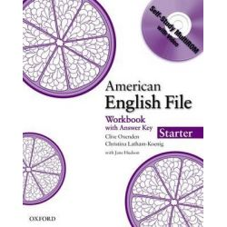 American English File Starter, Workbook with MultiROM by Clive Oxenden, 9780194774024.