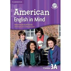 American English in Mind Level 3 Combo a with DVD-ROM by Herbert Puchta, 9780521733557.
