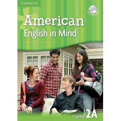 American English in Mind Level 2 Combo A with DVD-ROM by Herbert Puchta, 9780521733458.