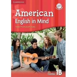 American English in Mind Level 1 Combo B with DVD-ROM by Herbert Puchta, 9780521733359.