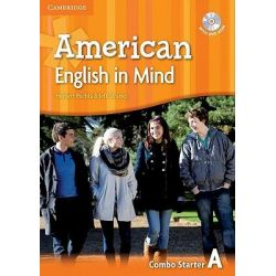 American English in Mind Starter Combo A with DVD-ROM by Herbert Puchta, 9780521733243.