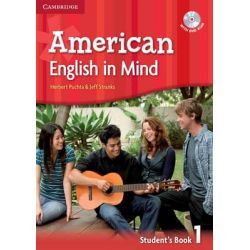 American English in Mind Level 1 Student's Book with DVD-ROM by Herbert Puchta, 9780521733335.