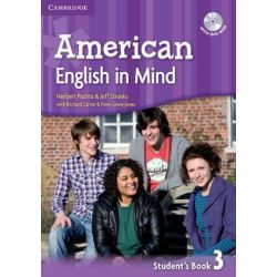 American English in Mind Level 3 Student's Book with DVD-ROM by Herbert Puchta, 9780521733540.