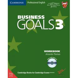 Business Goals 3 Workbook and Audio CD Bahrain Edition, Level 3 by Amanda Thomas, 9780521694179.