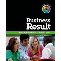 Business Result DVD Edition, Pre-Intermediate: Student's Book with DVD-ROM and Online Workbook Pack by OXFORD, 9780194739382.