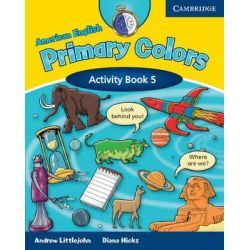 American English Primary Colors 5 Activity Book, Activity Book Level 5 by Diana Hicks, 9780521682626.