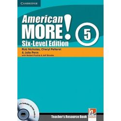 American More! Six-Level Edition Level 5 Teacher's Resource Book with Testbuilder CD-ROM/Audio CD, Six-level Edition Level 5 Teacher's Resource Book With Testbuilder by Rob Nicholas, 97805