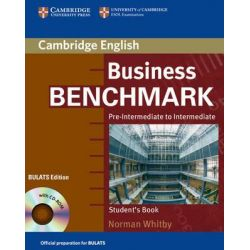Business Benchmark Pre-Intermediate to Intermediate Student's Book with CD ROM BULATS Edition, Pre-Intermediate to Intermediate [With CDROM] by Norman Whitby, 9780521672849.