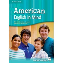 American English in Mind Level 4 Teacher's Edition by Herbert Puchta, 9780521733496.