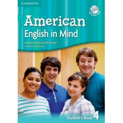 American English in Mind Level 4 Student's Book with DVD-ROM by Alison Greenwood, 9780521733472.