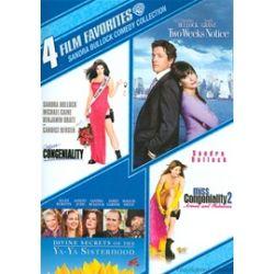 4 Film Favorites: Sandra Bullock Comedy Collection (DVD 2000)