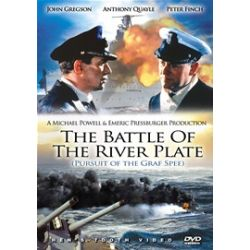 Battle Of The River Plate, The (Pursuit Of The Graf Spee) (DVD 1956)