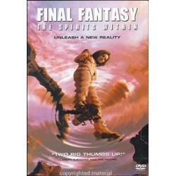 Final Fantasy: The Spirits Within (Single-Disc Edition) (DVD 2001)