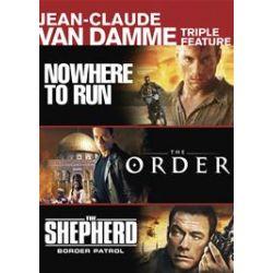 Jean-Claude Van Damme: Nowhere to Run / The Order / The Shepherd: Border Patrol (Triple Feature) (DVD)