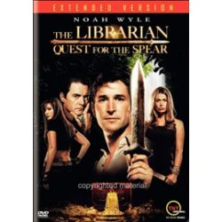 Librarian, The: Quest For The Spear (DVD 2004)