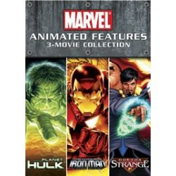 Marvel Animated Features: 3-Movie Collection (DVD)