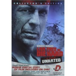 Live Free Or Die Hard: Unrated Collector's Edition (DVD 2007)