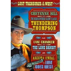 Lost Treasures Of The West: Thundering Thompson / Lone Bandit / Lone Goes West (Triple Feature) (DVD)