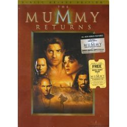 Mummy Returns, The: Deluxe Edition (DVD 2001)