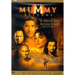 Mummy Returns, The: Collector's Edition (Widescreen) (DVD 2001)