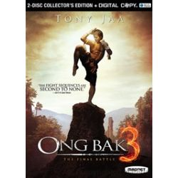 Ong Bak 3: The Final Battle - 2 Disc Collector's Edition (DVD 2010)
