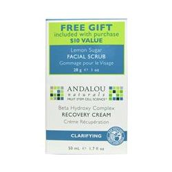 Andalou Naturals, Beta Hydroxy Complex Recovery Cream, Clarifying , 1.7 fl oz (50 ml)