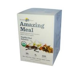 Amazing Grass, Amazing Meal, Vanilla Chai Infusion, 10 Individual Packets, 24 g Each