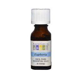 Aura Cacia, 100% Pure Essential Oils, Euphoria, .5 fl oz (15 ml)