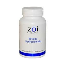 ZOI Research, Betaine Hydrochloride, 90 Veggie Caps